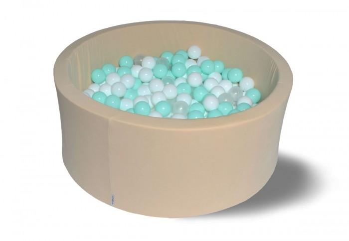 Hotenok Сухой бассейн Ванилька 40 см с комплектом шаров 200 шт. от Hotenok