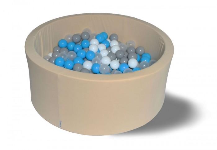 Hotenok Сухой бассейн Брызки на песке 40 см с комплектом шаров 200 шт. от Hotenok