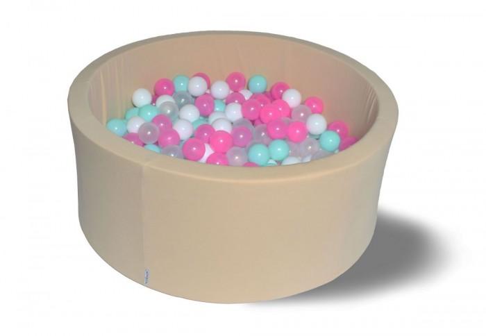 Hotenok Сухой бассейн Ванильное мороженое 40 см с комплектом шаров 200 шт. от Hotenok