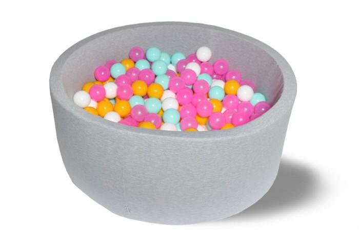 Купить Сухие бассейны, Hotenok Сухой бассейн Радужный 40 см с комплектом шаров 200 шт.