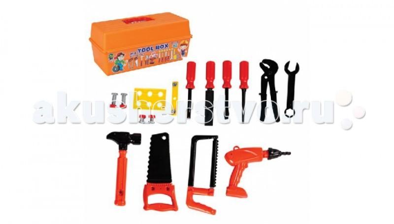 Ролевые игры Pilsan Набор Инструментов Mini Tool в ящике pilsan игровой набор инструменты tool set в тележке