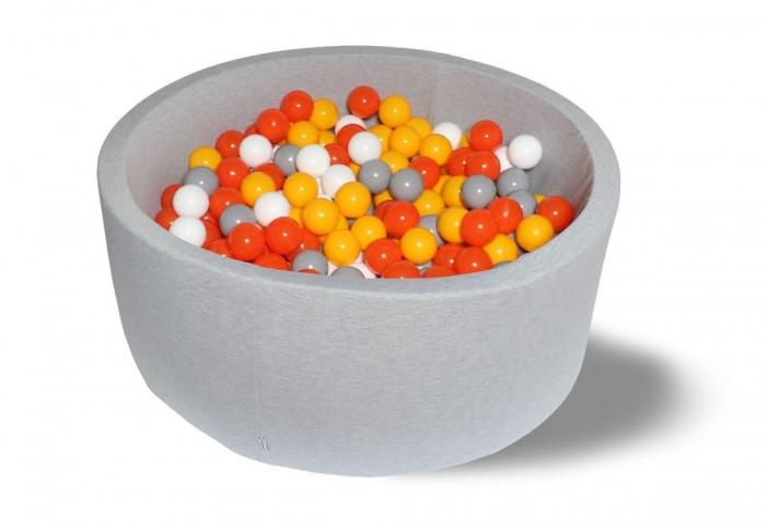 Hotenok Сухой бассейн Лимонад 40 см с комплектом шаров 200 шт.