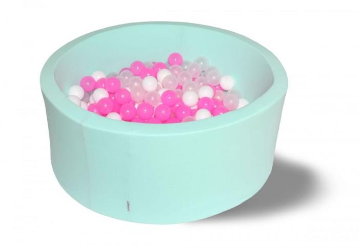 Купить Сухие бассейны, Hotenok Сухой бассейн Коктейль 40 см с комплектом шаров 200 шт.