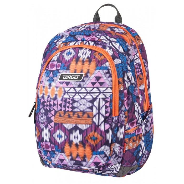 Купить Школьные рюкзаки, Target Collection Рюкзак 3 zip Майя