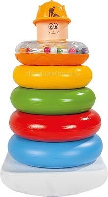 Развивающие игрушки Pilsan Пирамидка Веселые кольца игрушка пирамидка мишка топтыжка