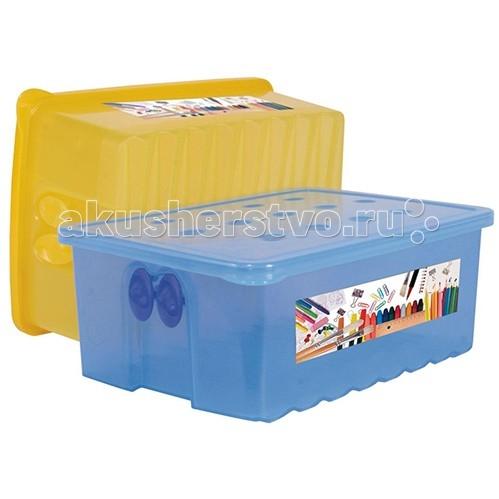 Ящики для игрушек Альтернатива (Башпласт) Контейнер для карандашей каталки альтернатива башпласт слонёнок