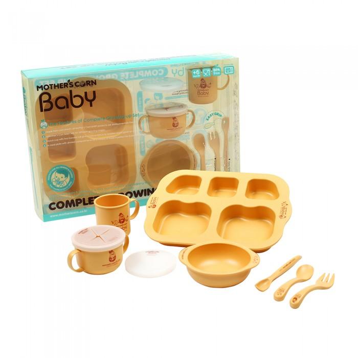 Купить Посуда, Mother's Corn Baby Набор из 7 предметов Растущий малыш