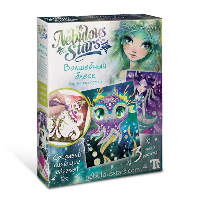 Аппликации для детей Nebulous Stars Набор для творчества Аппликации Волшебный блеск недорого