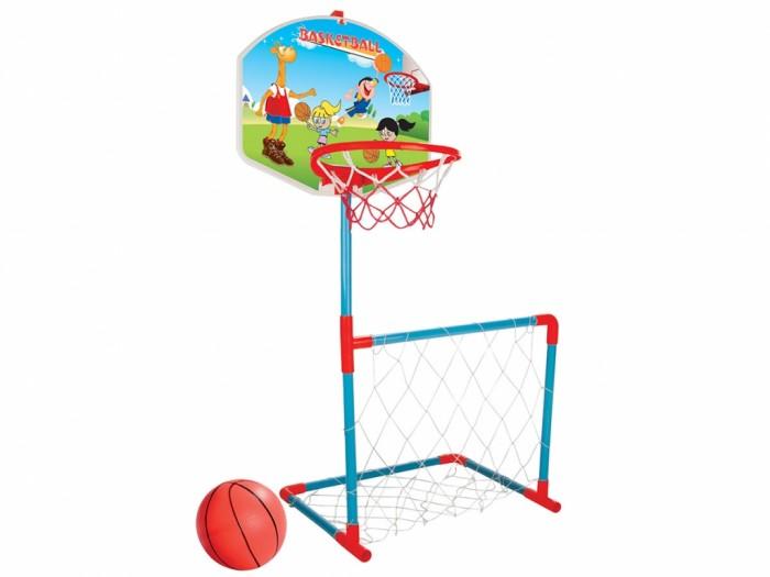 Спортивный инвентарь Pilsan Баскетбольное кольцо с дартсом и футбольными воротами баскетбольное кольцо pilsan с мишенью для игры в дартс