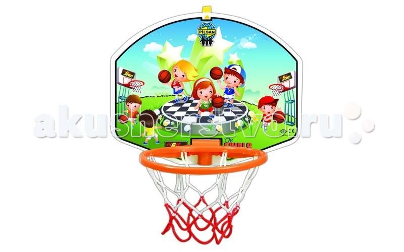 Спортивный инвентарь Pilsan Баскетбольное кольцо и дартс Little баскетбольное кольцо pilsan с мишенью для игры в дартс