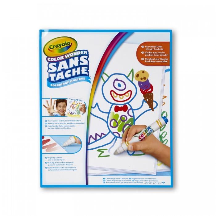 Crayola Волшебные листы для рисования Color Wonder 30 страниц