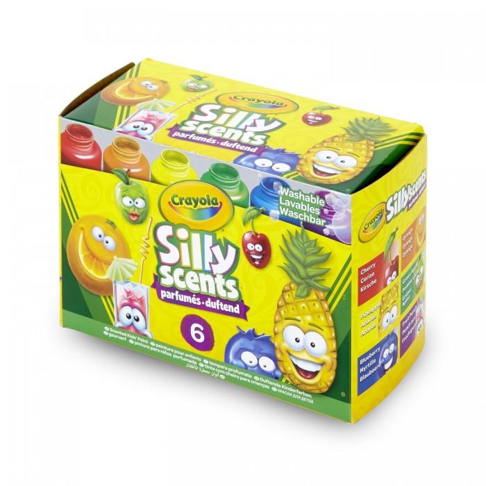 Crayola Набор из 6 ароматизированных смываемых детских красок