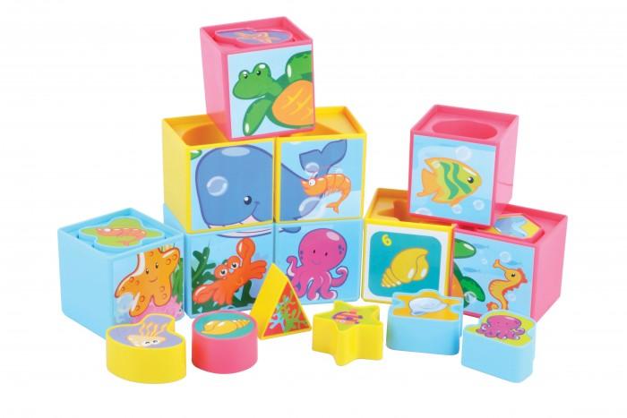 Развивающая игрушка Red Box Набор кубиков 9 штук с вкладышами