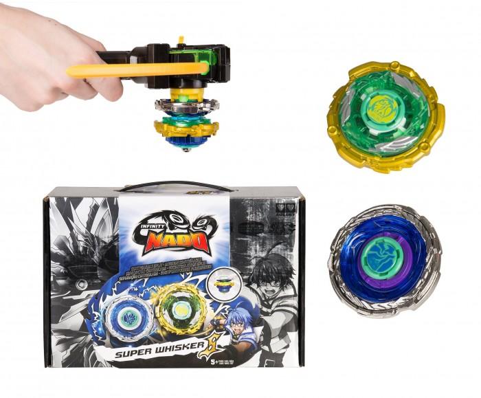 Infinity Nado Волчок Крэк Super Whisker с пусковым устройством
