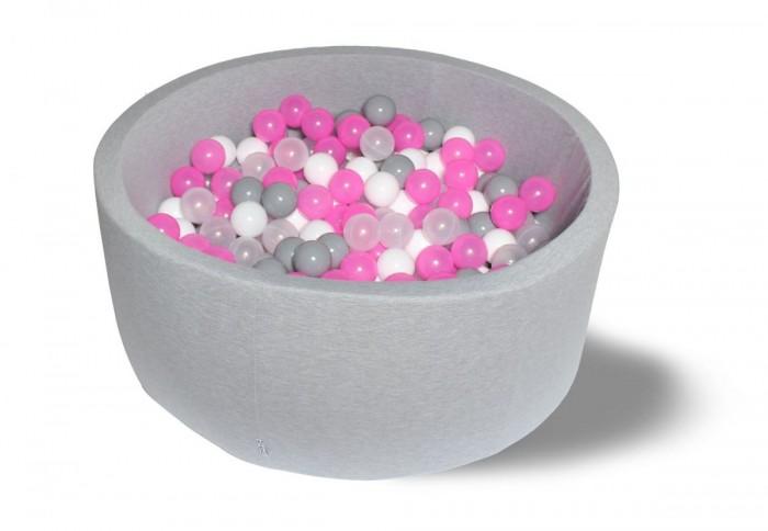 Картинка для Hotenok Сухой бассейн Розовый праздник 30 см с комплектом шаров 200 шт.