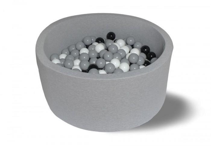 Hotenok Сухой бассейн 200 оттенков серого 40 см с комплектом шаров 200 шт. от Hotenok