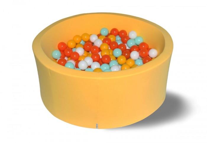 Hotenok Сухой бассейн Грейпфрут 40 см с комплектом шаров 200 шт. от Hotenok