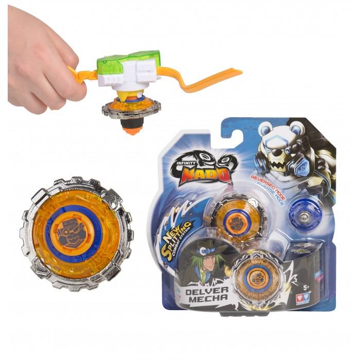 Игровые наборы Infinity Nado Волчок Стандарт Delver Mecha с пусковым устройством