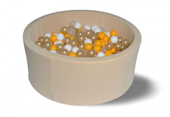 Купить Сухие бассейны, Hotenok Сухой бассейн Злато 40 см с комплектом шаров 200 шт.