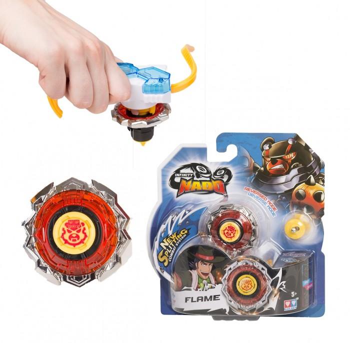 Игровые наборы Infinity Nado Волчок Стандарт Flame с пусковым устройством