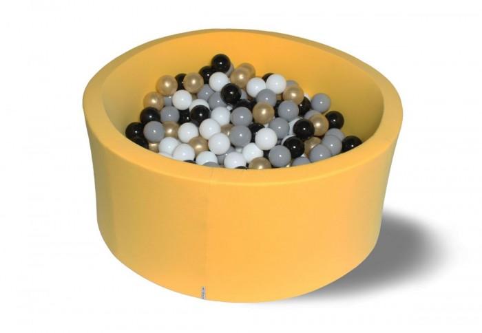 Картинка для Hotenok Сухой бассейн Золотой песок 40 см с комплектом шаров 200 шт.