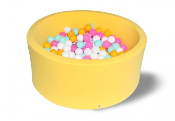 Hotenok Сухой бассейн Лимонная жвачка 40 см с комплектом шаров 200 шт. от Hotenok
