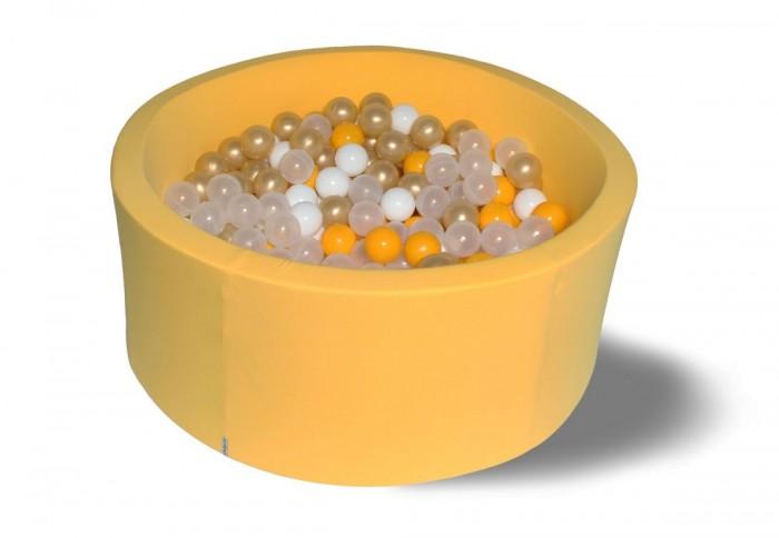 Hotenok Сухой бассейн Лимонное золото 40 см с комплектом шаров 200 шт. от Hotenok