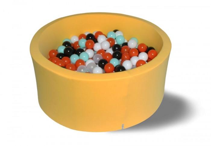Hotenok Сухой бассейн Лимонное сияние 40 см с комплектом шаров 200 шт. от Hotenok