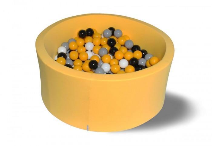 Hotenok Сухой бассейн Цветочная пыльца 40 см с комплектом шаров 200 шт.