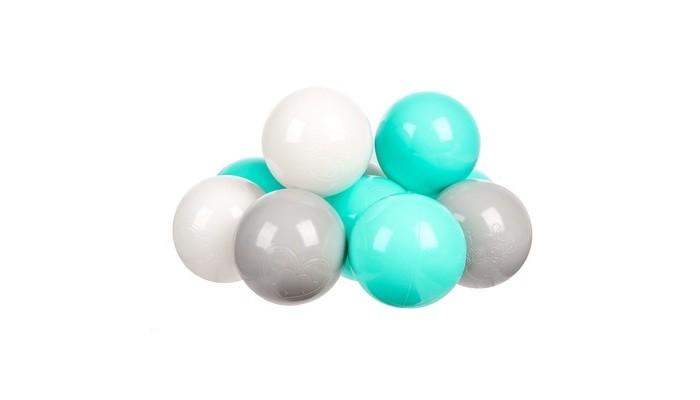 Hotenok Набор шариков для сухого бассейна Мятный бриз 7 см 100 шт. от Hotenok