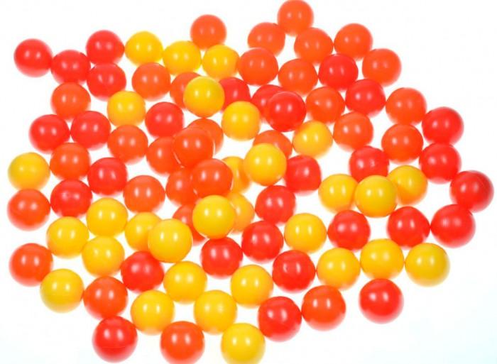 Hotenok Набор шариков для сухого бассейна Солнечный 7 см 100 шт. от Hotenok
