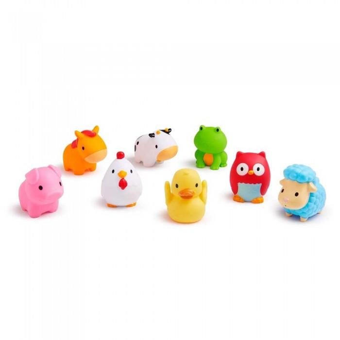 Игрушки для ванны Munchkin Игрушки для ванны Ферма игрушки для ванны tolo toys набор ведерок квадратные