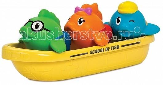 Игрушки для ванны Munchkin Игрушка для ванны Школа рыбок игрушки для ванны munchkin игрушка для ванны пингвин пловец