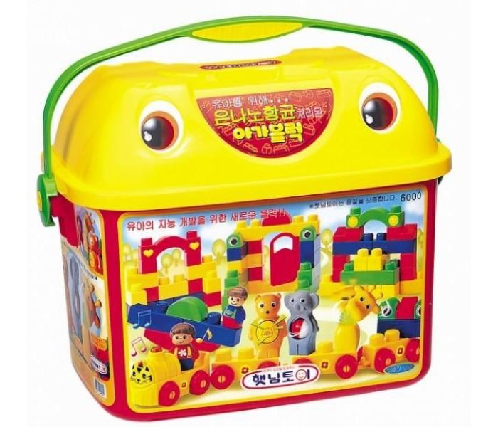 Купить Конструкторы, Конструктор Haenim Toy Зоопарк (84 детали)