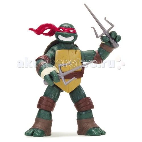 Игровые фигурки Turtles Nickelodeon Фигурка Черепашки Ниндзя Рафаэль 10-12.5 см