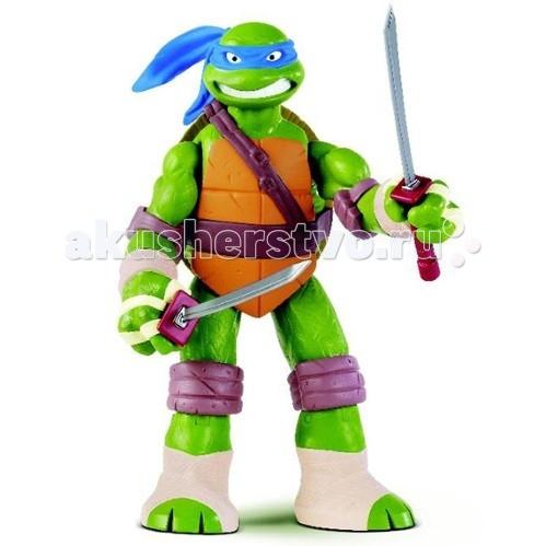 Игровые фигурки Turtles Nickelodeon Фигурка Черепашки Ниндзя Леонардо 28 см игровые фигурки turtles черепашки ниндзя с растягивающимися руками