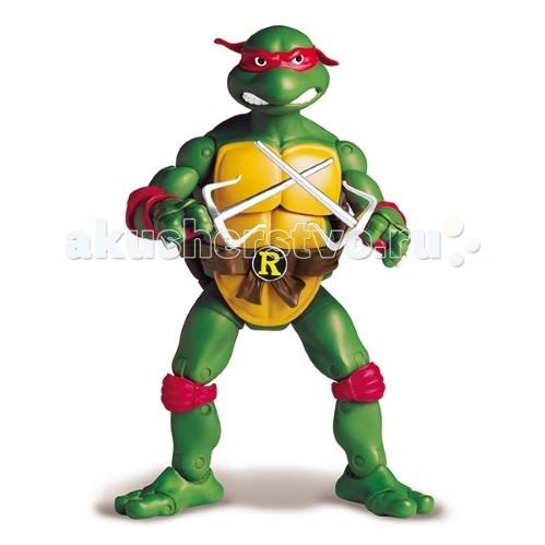 Игровые фигурки Turtles Nickelodeon Фигурка Черепашки Ниндзя Рафаэль 15 см игровые фигурки turtles машинка черепашки ниндзя 7 см майки на патрульном багги