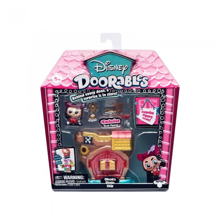 Disney Doorables Игровой набор с 2 фигурками Питер Пэн