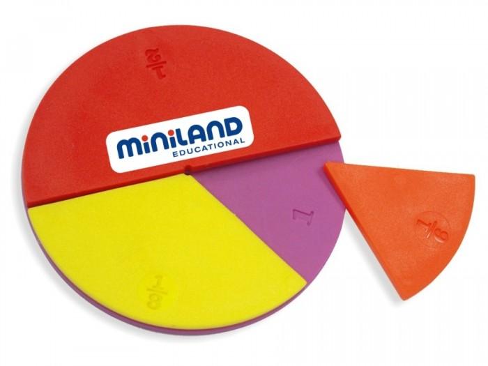 Купить Игровые наборы, Miniland Набор для изучения дробей Fraction Set (60 элементов)