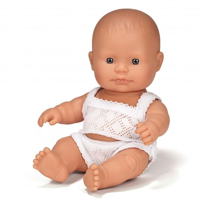 Miniland Кукла Девочка европейка 21 см