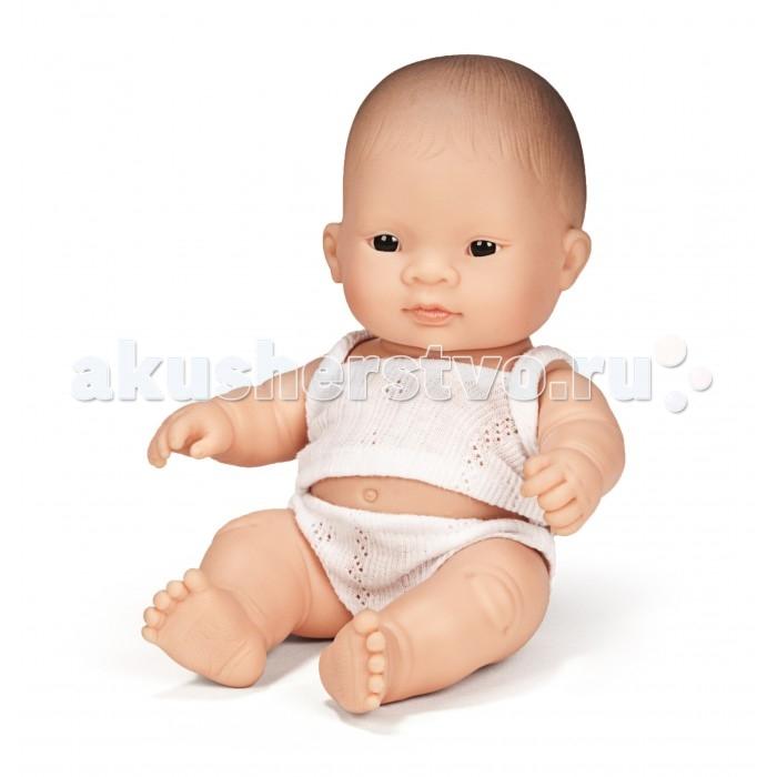Фото - Куклы и одежда для кукол Miniland Кукла Мальчик азиат 21 см кукла paola reina елена 21 см 02101