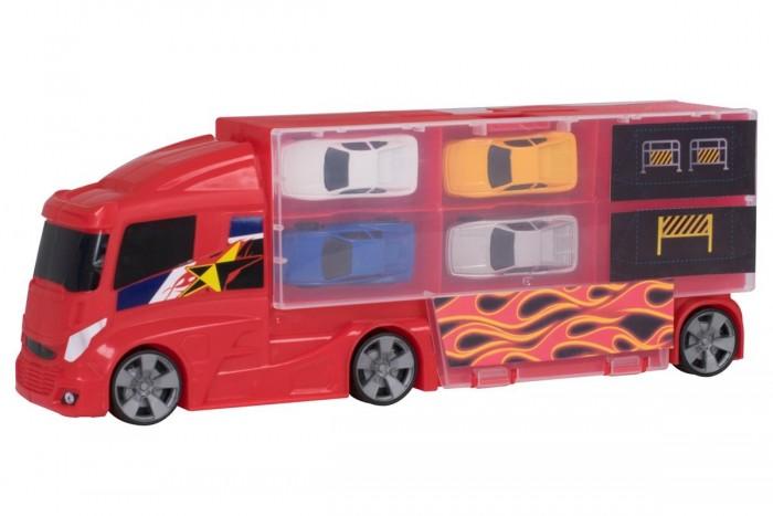 Купить Машины, HTI Игровой набор Teamsterz Автоперевозчик с 4 машинками