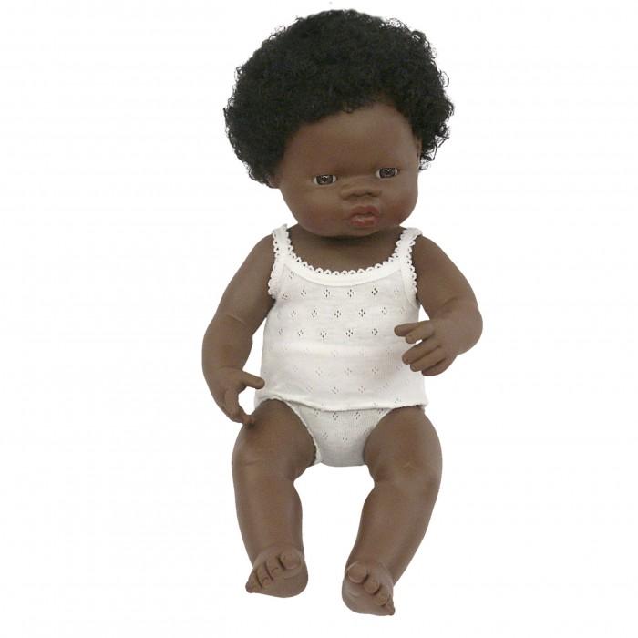 Miniland Кукла Девочка африканка 38 см