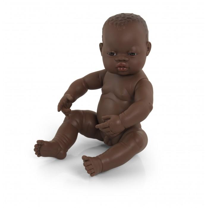 Miniland Кукла Мальчик африканец 40 см