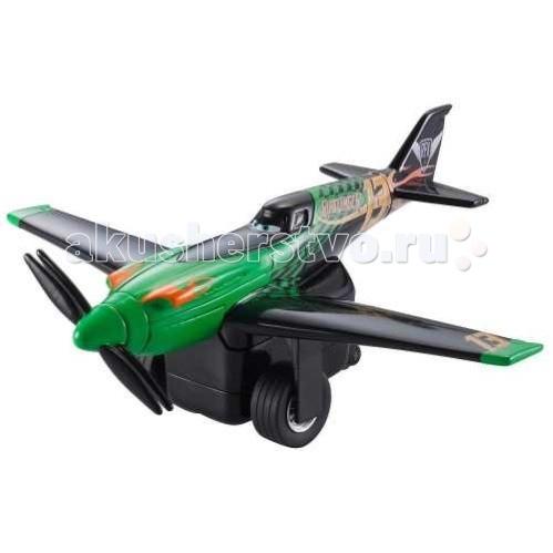 Disney Mattel Planes Самолет инерц. Ripslinger (Рипслингер)