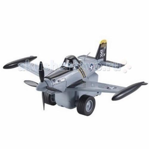 Вертолеты и самолеты Disney Mattel Planes Самолет инерц. Dusty (Дасти пилот морской авиации) фотообои disney edition 1 planes dusty and friends 184 х 254см