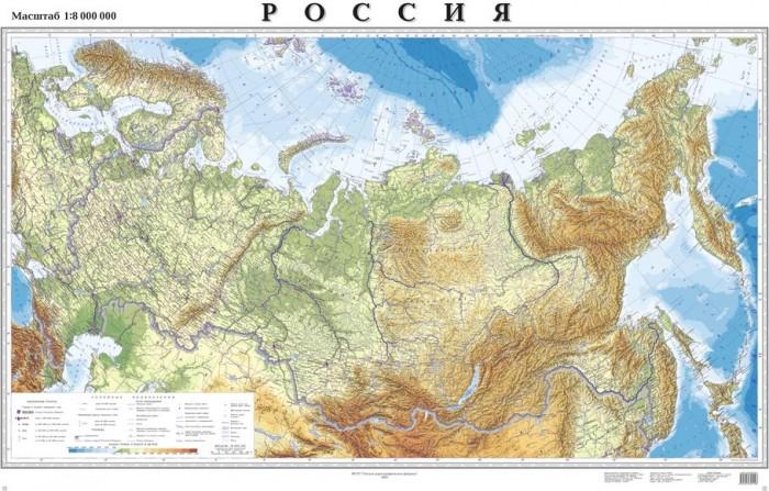 Kett-Up Настольное покрытие Карта России 40х60 см от Kett-Up