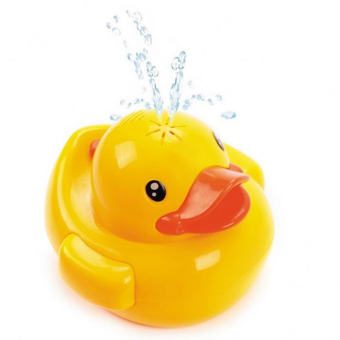 Картинка для Игрушки для ванны Жирафики Игрушка-фонтан для купания Утенок со светом и звуками