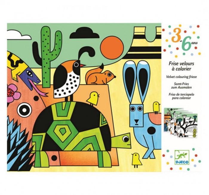 Картинка для Раскраска Djeco бархатная Колорадо