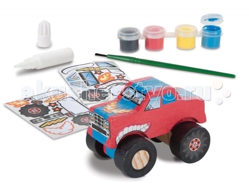 Купить Деревянные игрушки, Деревянная игрушка Melissa & Doug Классические игрушки Грузовик-монстер